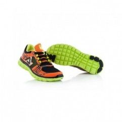 ZAPATILLAS ACERBIS CORPORATE RUNNING NARANJA FLUOR/NEGRO