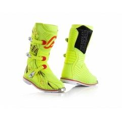 BOTAS ACERBIS SHARK JUNIOR AMARILLO FLÚOR.