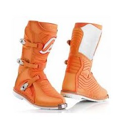 BOTAS ACERBIS SHARK JUNIOR NARANJA