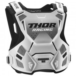 PETO THOR GUARDIAN MX BLANCO/NEGRO