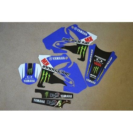 KIT COMPLETO ADHESIVOS INNOVATIVE MONSTER YZ125-250/02-12