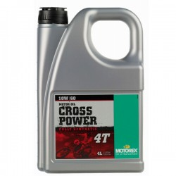 ACEITE MOTOREX CROSS POWER 4T 10W-60 4L