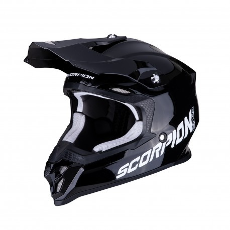 CASCO SCORPION VX-16 AIR SOLID NEGRO