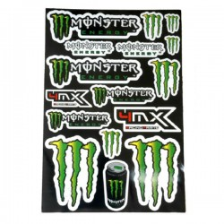 BLISTER DE ADHESIVOS MONSTER