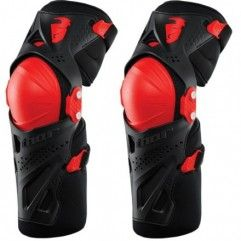 RODILLERAS THOR FORCE XP ROJO/NEGRO