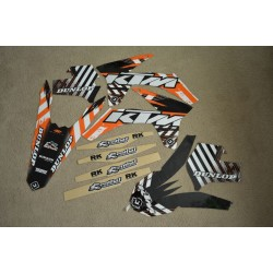 KIT ADHESIVOS FLU DESIGNS KTM SX/XC/EXC 11-12
