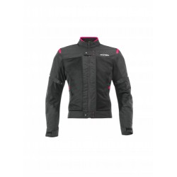 CHAQUETA MUJER ACERBIS RAMSEY MY VENTED 2.0 NEGRO/ROSA