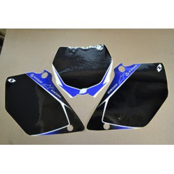 ADHESIVOS PORTANUMEROS ONE INDUSTRIES YZ 125-250 2006 NEGRO