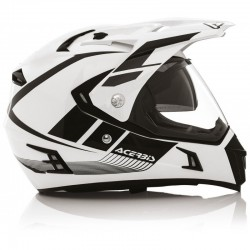 CASCO ACERBIS ACTIVE BLANCO/NEGRO
