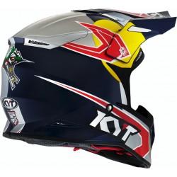 CASCO ACERBIS X-RACER VTR ROJO/BLANCO