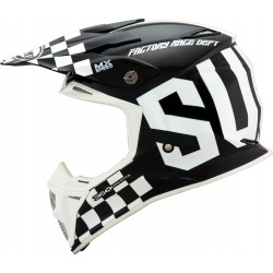 CASCO SUOMY SPEED MASTER BLANCO/NEGRO.