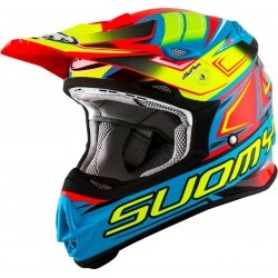 CASCO SUOMY MR JUMP START AZUL/AMARILLO.