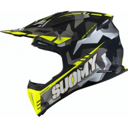 CASCO SUOMY X-WING CAMOUFLAGER AMARILLO MATE.