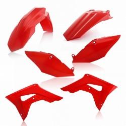Kit Plásticos Acerbis Honda Crf 250 r 18-21 Rojo.