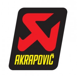 ADHESIVO AKRAPOVIC 47X60 MM 2T/4T.