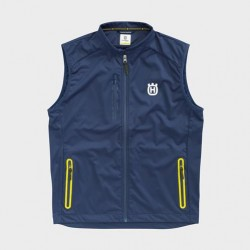 CHAQUETA HUSQVARNA CORPORATE SOFTSHELL AZUL.