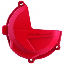 PROTECTOR TAPA EMBRAGUE POLISPORT BETA RR 250/300 18-19 ROJO.
