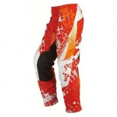 PANTALON CROSS JUNIOR HEBO PHENIX 03 SQUARE ROJO