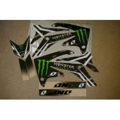 KIT ADHESIVOS ONE MONSTER CRF250 2010-2012 CRF250 2009-2012