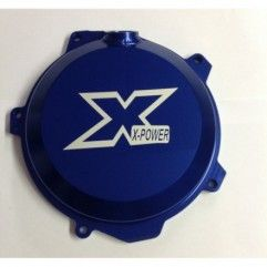 TAPA DE EMBRAGUE X-POWER HUSABERG FE 250/350 13-14 AZUL.