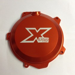 TAPA DE EMBRAGUE X-POWER HUSABERG FE 250/350 13-14 NARANJA.