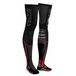 CALCETINES ACERBIS X-LEG PRO ROJO/NEGRO.