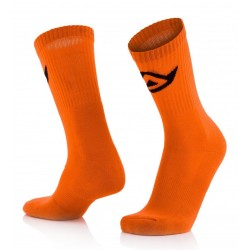 CALCETINES ACERBIS COTTON NARANJA.