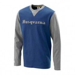 CAMISETA HOMBRE HUSQVARNA AUTHENTIC MANGA LARGA