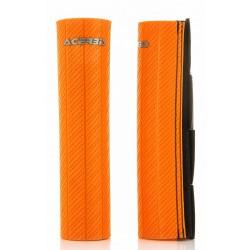 Protector de Barra 43-50mm Horquilla Acerbis Naranja.