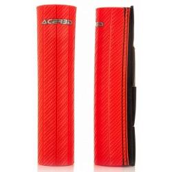 Protector de Barra 43-50mm Horquilla Acerbis Rojo.