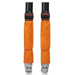 Protector de Horquilla 46-49mm Acerbis Z-Mud Naranja.
