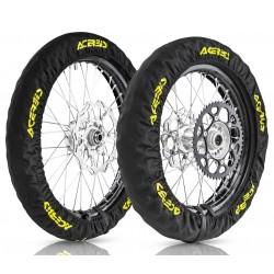Kit Funda Neumáticos Acerbis X-Tire Negro.