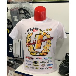 Camiseta World Champion Sergio Navarro 2020.