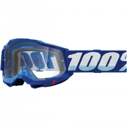 Gafas 100% Accuri 2 Azul - Lente Transparente.