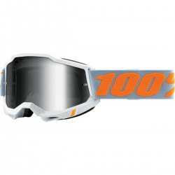Gafas 100% Accuri 2 Blanco - Lente Espejo.