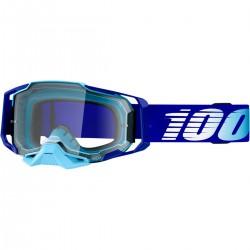 Gafas 100% Armega Azul - Lente Transparente.