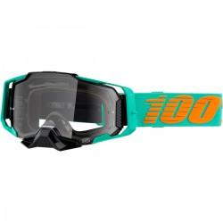 Gafas 100% Armega Turquesa - Lente Transparente.