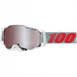 Gafas 100% Armega Gris - Lente Espejo.
