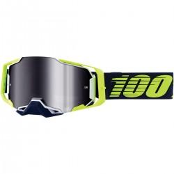 Gafas 100% Armega Amarillo/Azul - Lente Espejo.