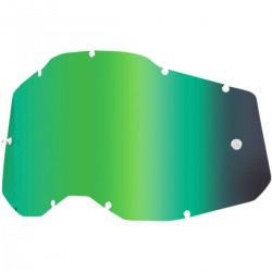 Cristal 100% Racecraft 2/Accuri 2/Strata 2 - Espejo Verde.