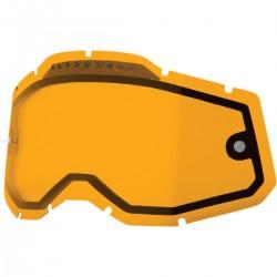 Cristal 100% Racecraft 2/Accuri 2/Strata 2 - Antivaho Ventilado Naranja.