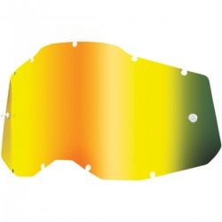 Cristal 100% Accuri 2/Strata 2 Infantil - Espejo Dorado.