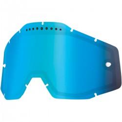 Cristal 100% Racecraft/Accuri/Strata - Ventilado Espejo Azul.