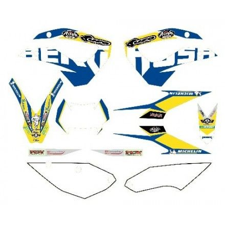 KIT ADHESIVOS FACTORY TE250-300 2011