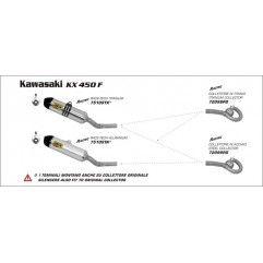 ILENCIOSO ARROW OFF-ROAD RACE TECH ALUMINIO KX450F/12